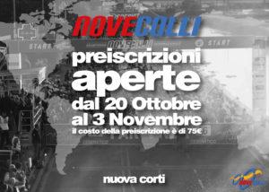 Granfondo NoveColli, Preiscrizione, Nuova Corti, Modena, Sassuolo, Reggio Emilia, Bici da Strada, MTB