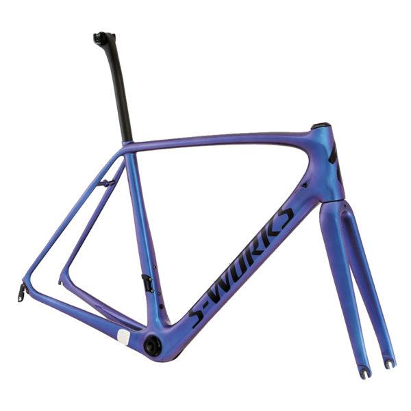 Telaio, Bici da Corsa, Bici da strada, Specialized, Tarmac, S-Works, Nuova Corti, Offerte, Sconti, Blu Cangiante,