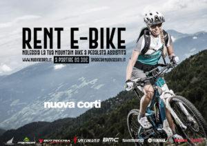 Servizio Noleggio e-bike, Mountain Bike a pedalata assistita, Nuova Corti