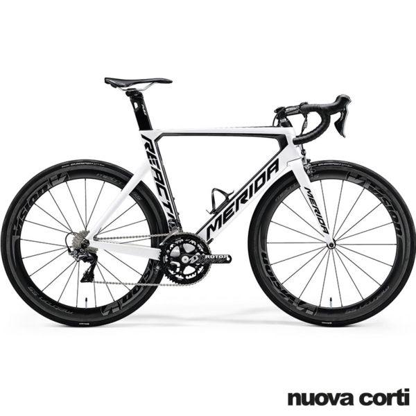 Bici da Corsa Merida Reacto, Shimao, Dura Ace, taglia 52 modello 2017, Disponibilità Immediata, Nuova Corti, sconto