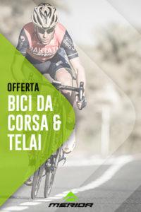 Offerta Bici da Corsa Merida, Telai Merida Bahrain, Scultura, Reacto, Nuova Corti