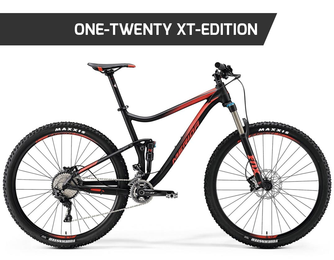 one-twenty xt-edition, mtb, mountain bike, merida, front, ht, hardtail, nuovacorti, milkywayshop, vendita mtb online